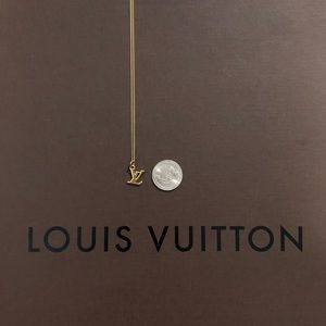 Louis Vuitton Jewelry - Louis Vuitton Initials Charm with N…